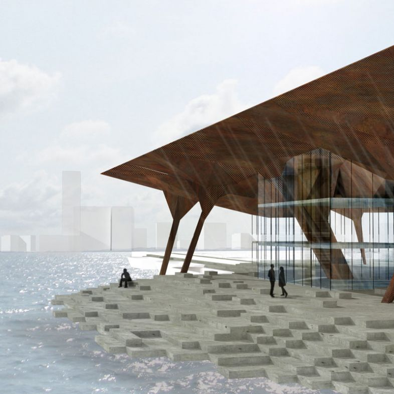 Museum and cultural quarter - a project by Marie Hjerrild Smedemark