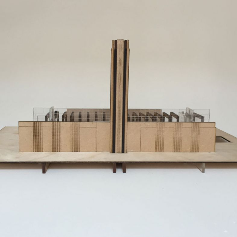 Tate Modern - Pattern - model by Guilherme Kuhn
