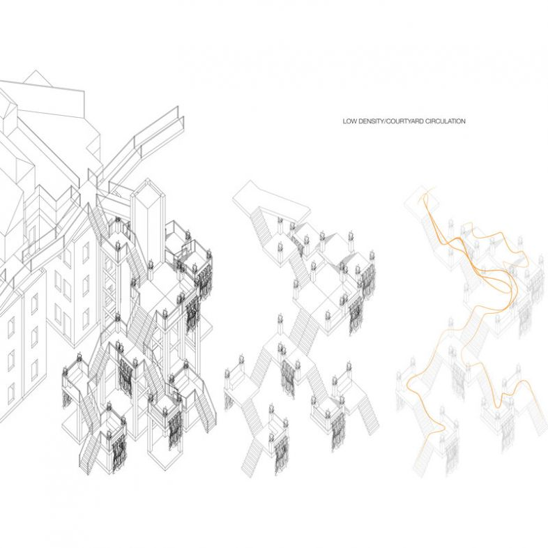 Street Reactivation by densification - a project by Nevin Ounpuu-Adams