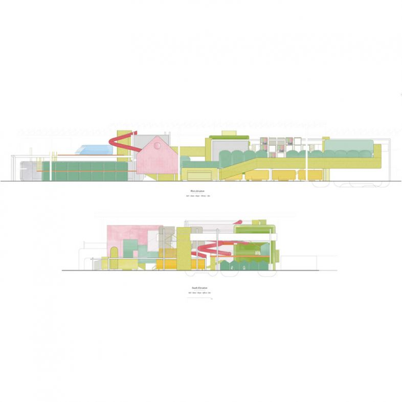 Mix-use leisure centre - a project by Alba Suarez Rico