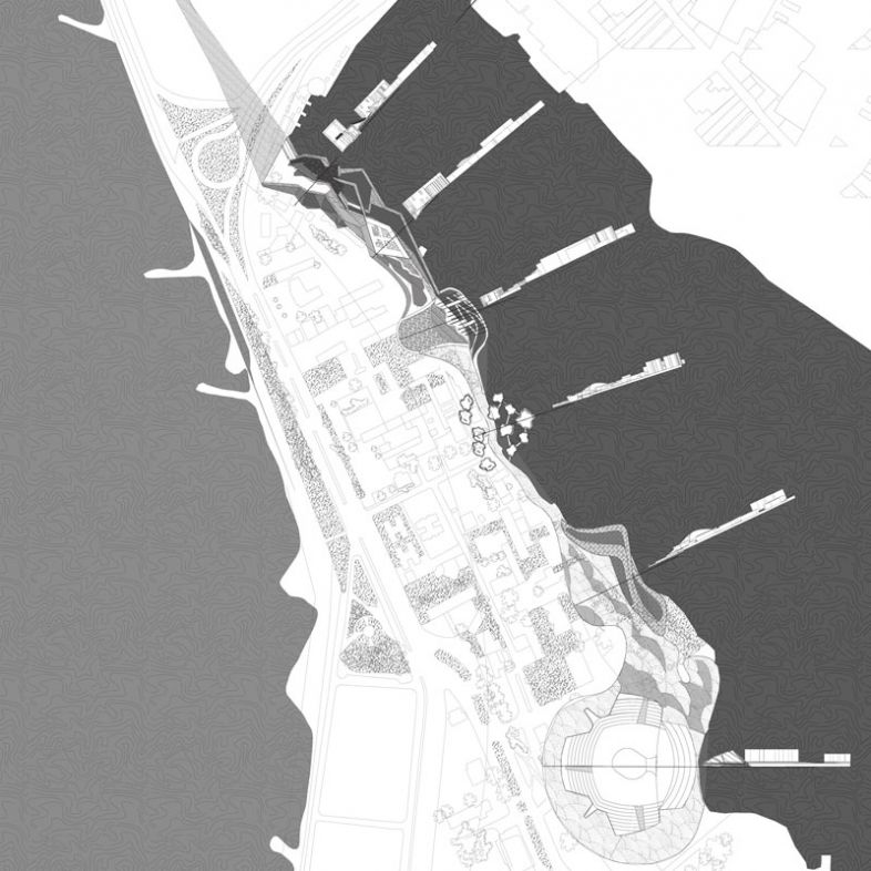 Waterfront Spatial journey - a project by Eyal Amsili Giovannett